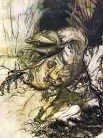 arthur rackham illustration wagners ring of the nibelung 44