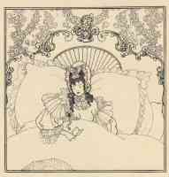 aubrey beardsley illustration billet doux