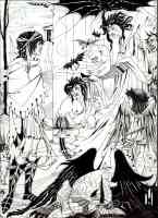 aubrey beardsley illustration dreams