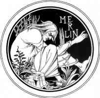 aubrey beardsley illustration merlin