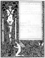 aubrey beardsley illustration salome book cover