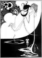 aubrey beardsley illustration the climax