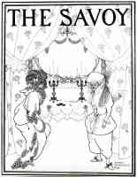 aubrey beardsley illustration title page of the savoy no 1