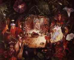 fairy illustration fairy banquet