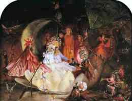 fairy illustration fairy barque