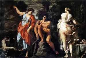 annibale carracci italian baroque the choice of heracles