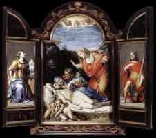 annibale carracci italian baroque triptych1
