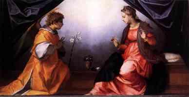 andrea del sarto italian renaissance annunciation