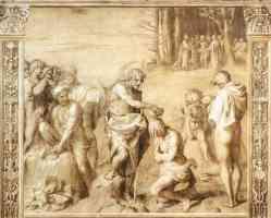 andrea del sarto italian renaissance baptism of the people