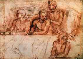 andrea del sarto italian renaissance last supper study