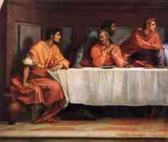 andrea del sarto italian renaissance the last supper detail2