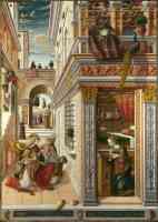 carlo crivelli italian renaissance the annunciation with saint emidius