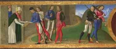 classical masters italian renaissance domenico ghirlandaio a legend of saints justus and clement of volterra