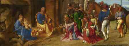 classical masters italian renaissance giorgione the adoration of the kings