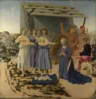 classical masters italian renaissance piero della francesca the nativity