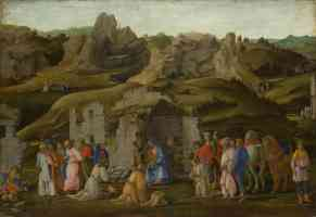 filippo lippi italian renaissance the adoration of the kings