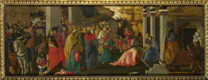 sandro botticelli italian renaissance adoration of the kings