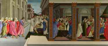 sandro botticelli italian renaissance four scenes from the early life of saint zenobius