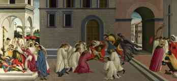 sandro botticelli italian renaissance three miracles of saint zenobius