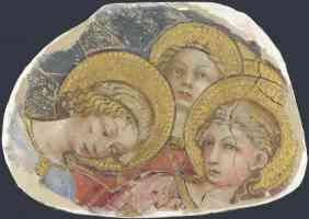 tuscan italian renaissance heads of angels