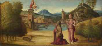 venetian italian renaissance augustus and the sibyl