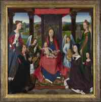 hans memling netherlandish the donne triptych 1