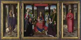 hans memling netherlandish the donne triptych