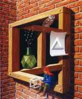 jos de mey optical illusion escher wall
