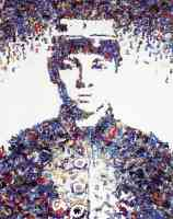vik muniz optical illusion civil war toy soldier