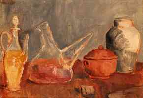 picasso 1900s still life of vases
