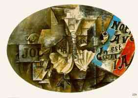 picasso 1910s the shell at saint jacques