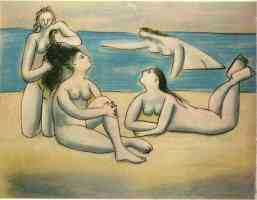 picasso 1920s nude summer bathers