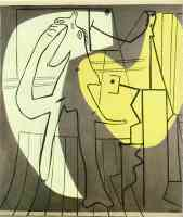 picasso 1920s the painter and his model