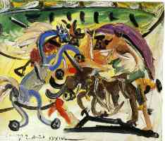picasso 1930s bullfight