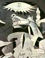 picasso 1930s guernica horse