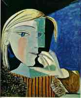 picasso 1930s portrait of marie therese