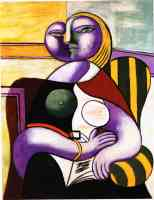 picasso 1930s reading