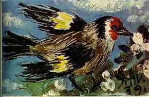 picasso 1930s song bird