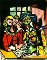 picasso 1930s two people