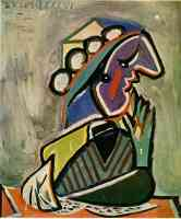 picasso 1930s woman crying