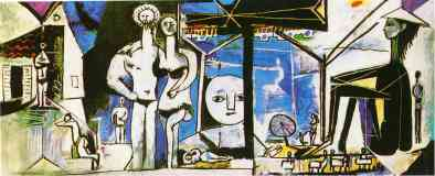 picasso 1950s the beach at garoupe