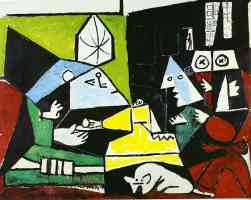 picasso 1950s the maninas