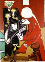 picasso 1950s the piano