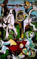 picasso 1960s david and the rape of sabines