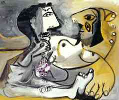 picasso 1960s man and woman naked