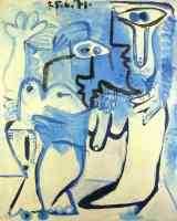 picasso 1960s man and woman