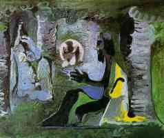 picasso 1960s the lunch on the grass