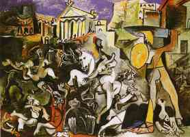 picasso 1960s the rape of the sabines
