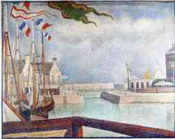 georges seurat post impressionist sunday in port en bessin
