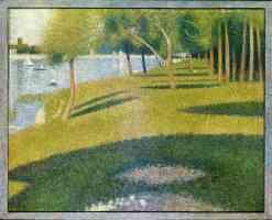 georges seurat post impressionist the island of la grande jatte